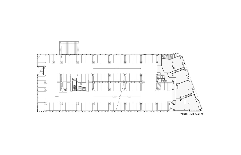 Architecture photography parking 02 floor plan 41735 for 02 floor plan