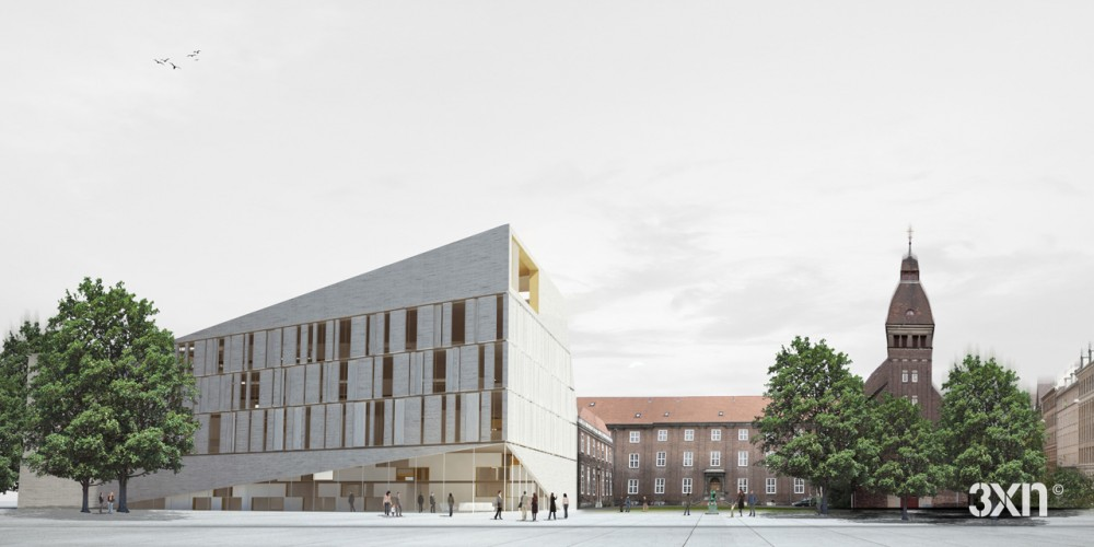 3XN wins competition for new Frederiksberg Courthouse in Denmark