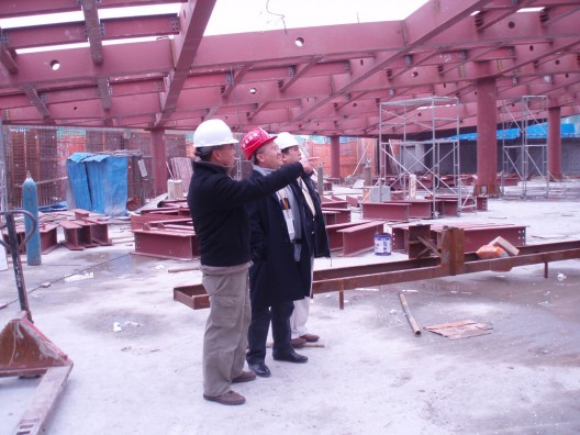 19_AMC Board Chairman visit the site today 19_AMC Board Chairman visit the site today
