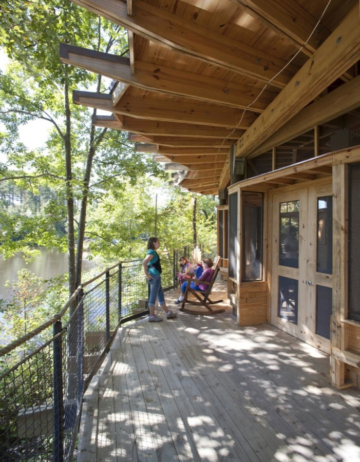 Camp Twin Lakes treehouse / Lord, Aeck &#038; Sargent