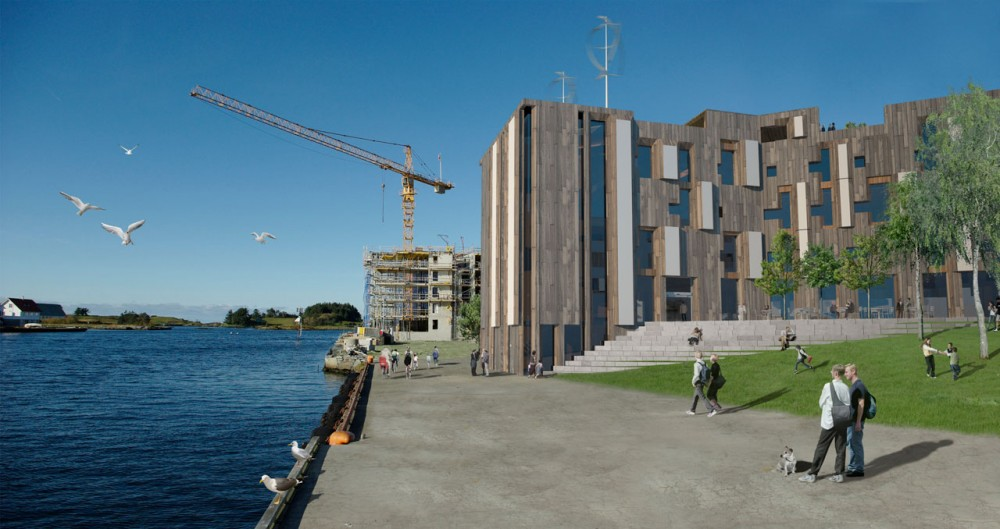 Skagen ØKOntor: Norway's most efficient office building by Various Architects