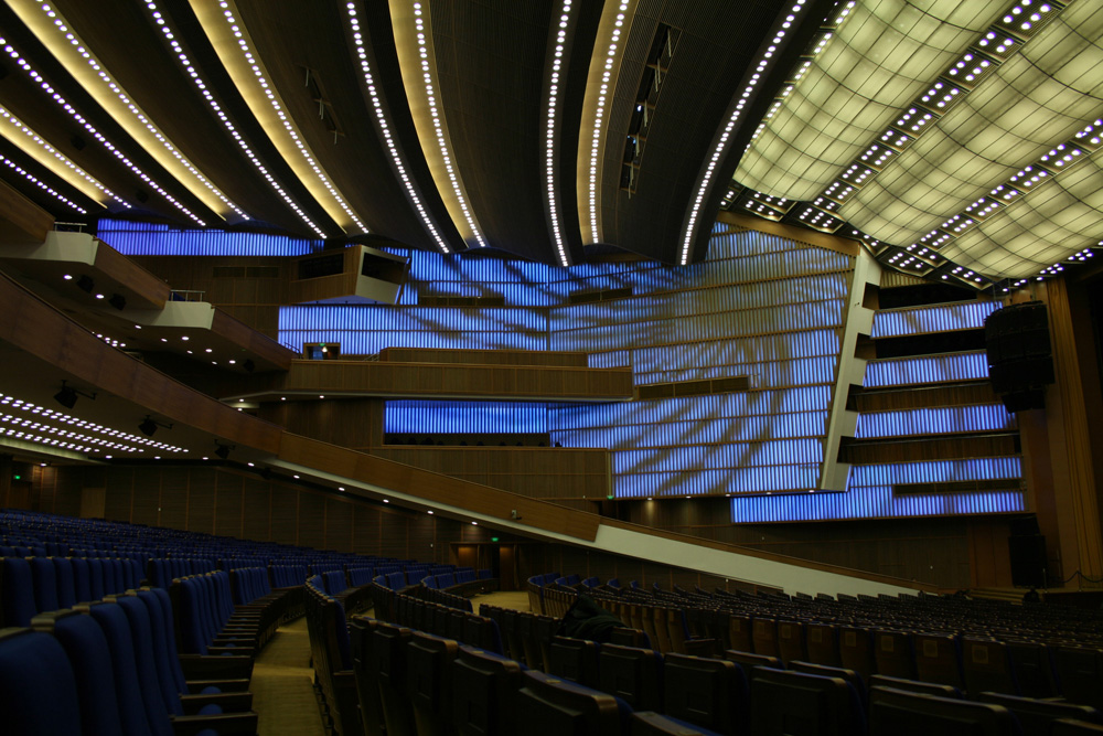 Reconstruction of Kremlin Concert Hall / OTASH studio