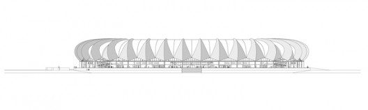 Stadion Port Elizabeth ©gmp – von Gerkan, Marg und Partner Architects, Berlin