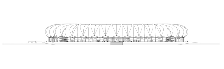 South Africa World Cup 2010: Nelson Mandela Bay Stadium / gmp architekten