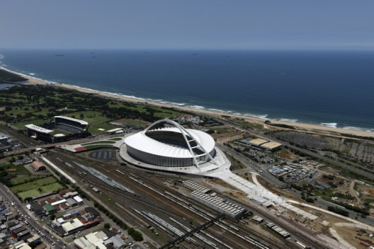 Moses Mabhida Stadium, Durban gmp  von Gerkan, Marg und Partner Architects, Berlin / Photo by: Marcus Bredt