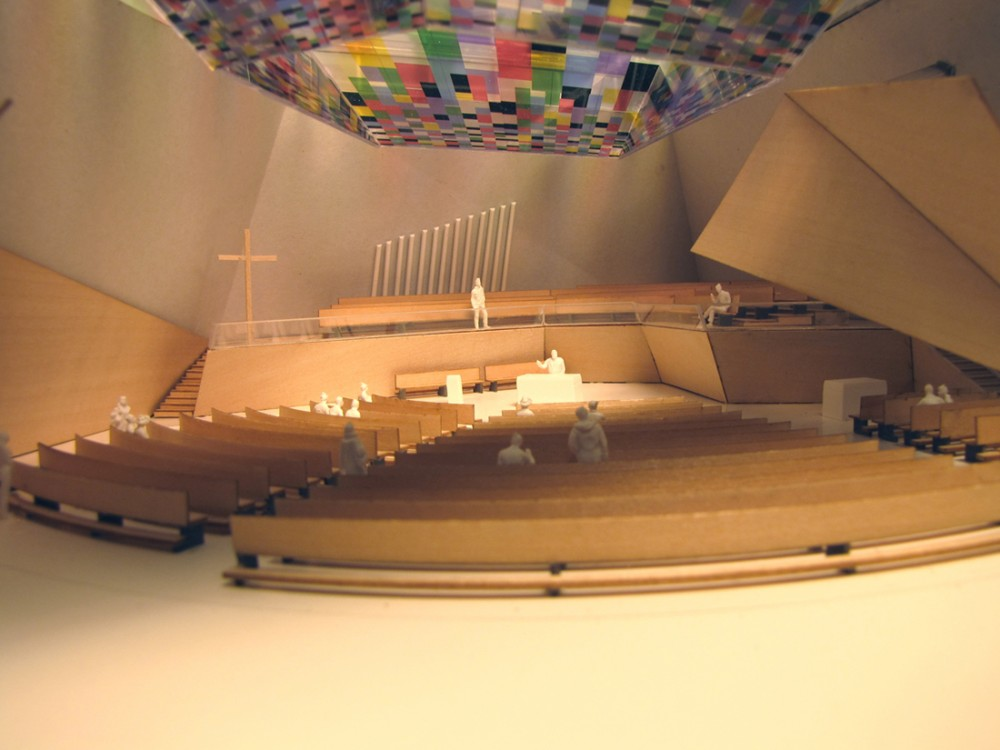 New building of the Catholic Provost Parish Church proposal