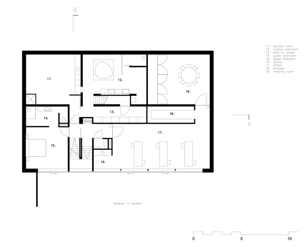 alfa img showing gt underground house floor plans