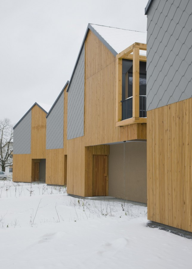 Backbone Village Houses / OFIS arhitekti