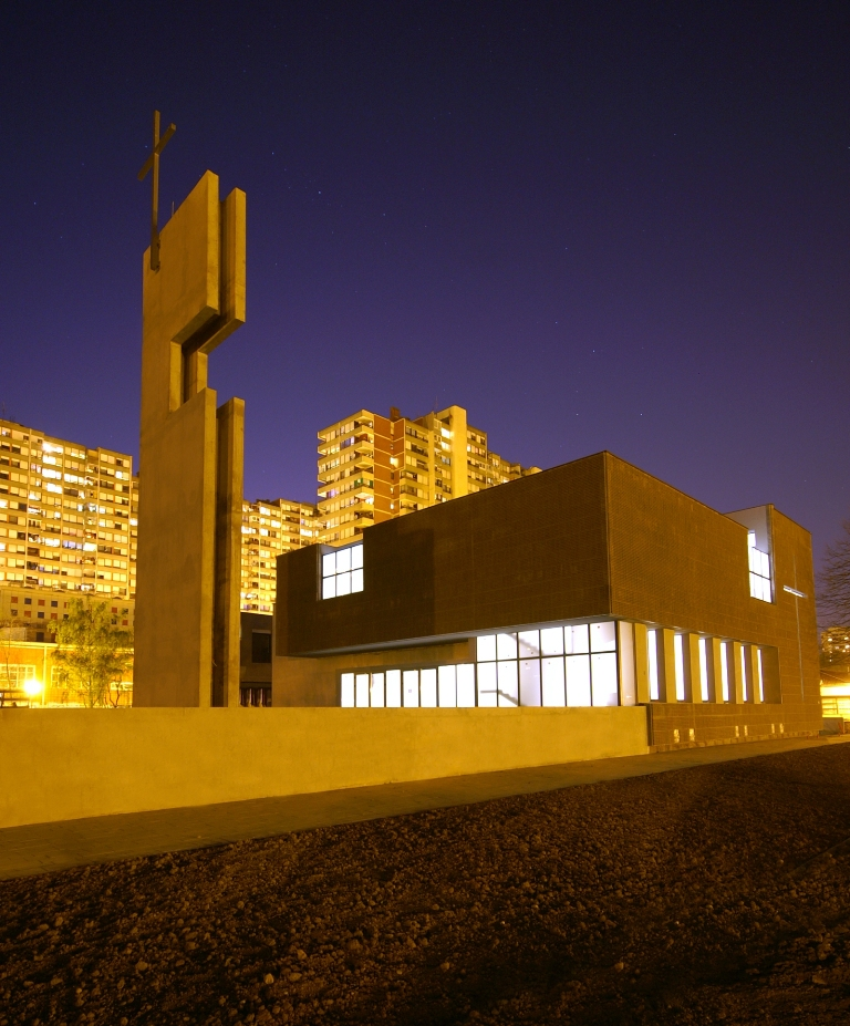 Parish Church of St Luke the Evangelist / Roman Vukoja & Robert Kriznjak