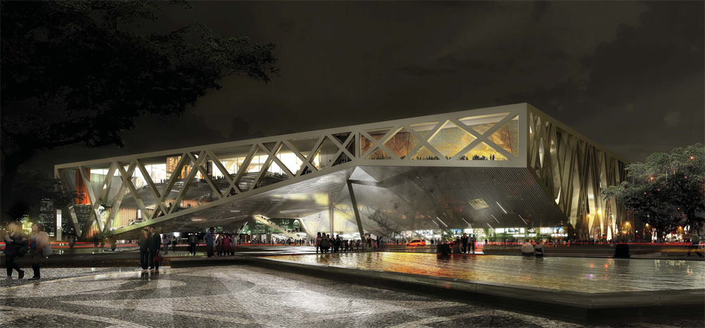 2nd Prize at Taipei Pop Music Center Competition / Studio Gang Architects