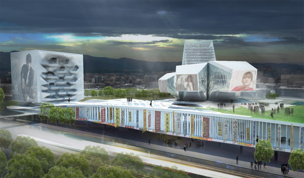 1st Prize at Taipei Pop Music Center Competition / Reiser + Umemoto