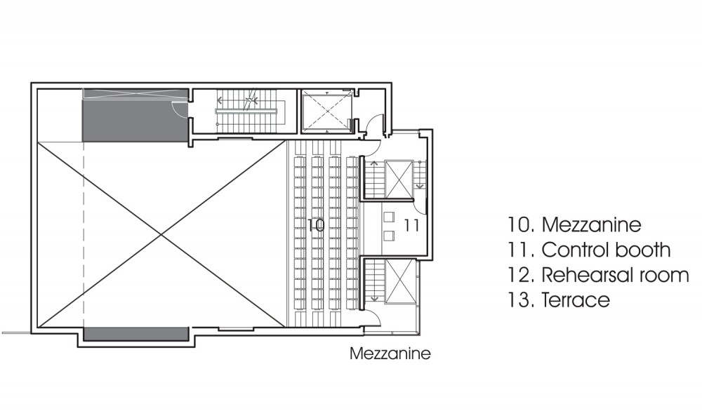 Plan mezzanine joy studio design gallery best design for House plans with mezzanine floor