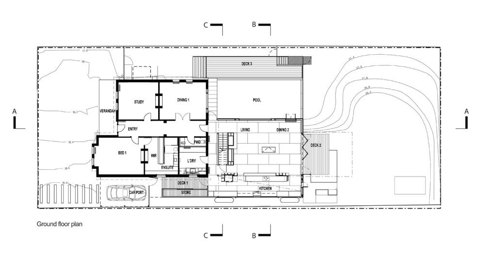 architecture photography ground floor plan 50857