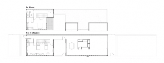 House in Lille / Saison-Menu Architectes floor plans