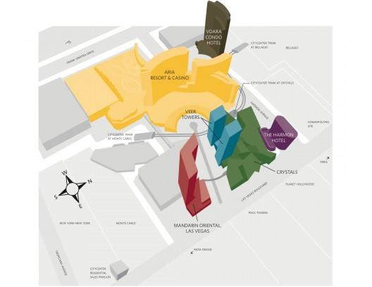 Kiến trúc Khách sạn: City Center Las Vegas