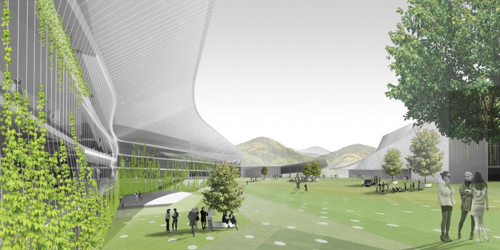 3rd Prize at Taipei Pop Music Center Competition / office dA