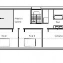 Forestview House - Atelier st second floor plan