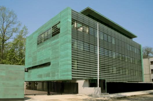 Metal Panel Facade : Canadian embassy