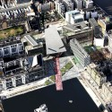 Grand Canal Theatre - Daniel Libeskind aerial view