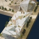 Grand Canal Theatre - Daniel Libeskind model 01