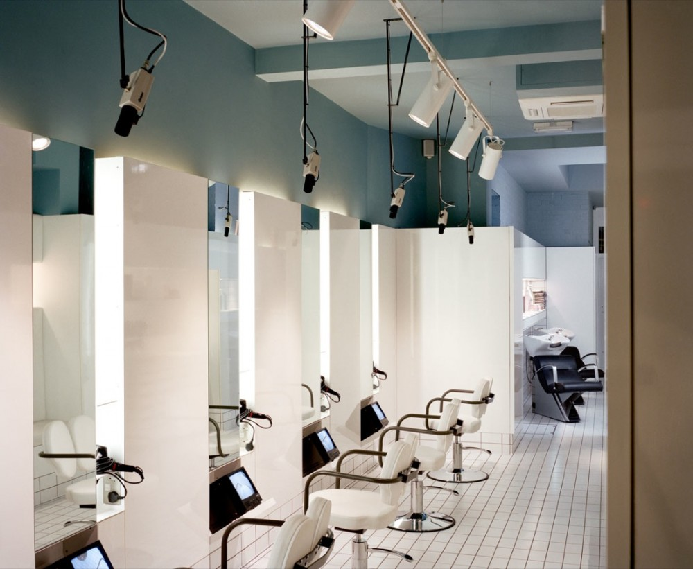 Classic hair salon interior interior home design home decorating - Sallon design ...