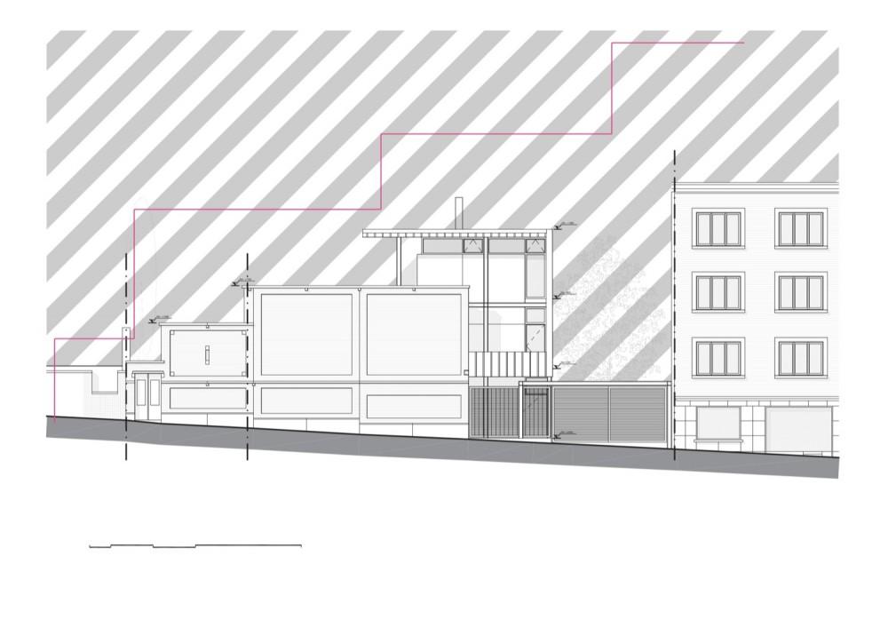 Franken House - Bekhor Architecte elevation 02
