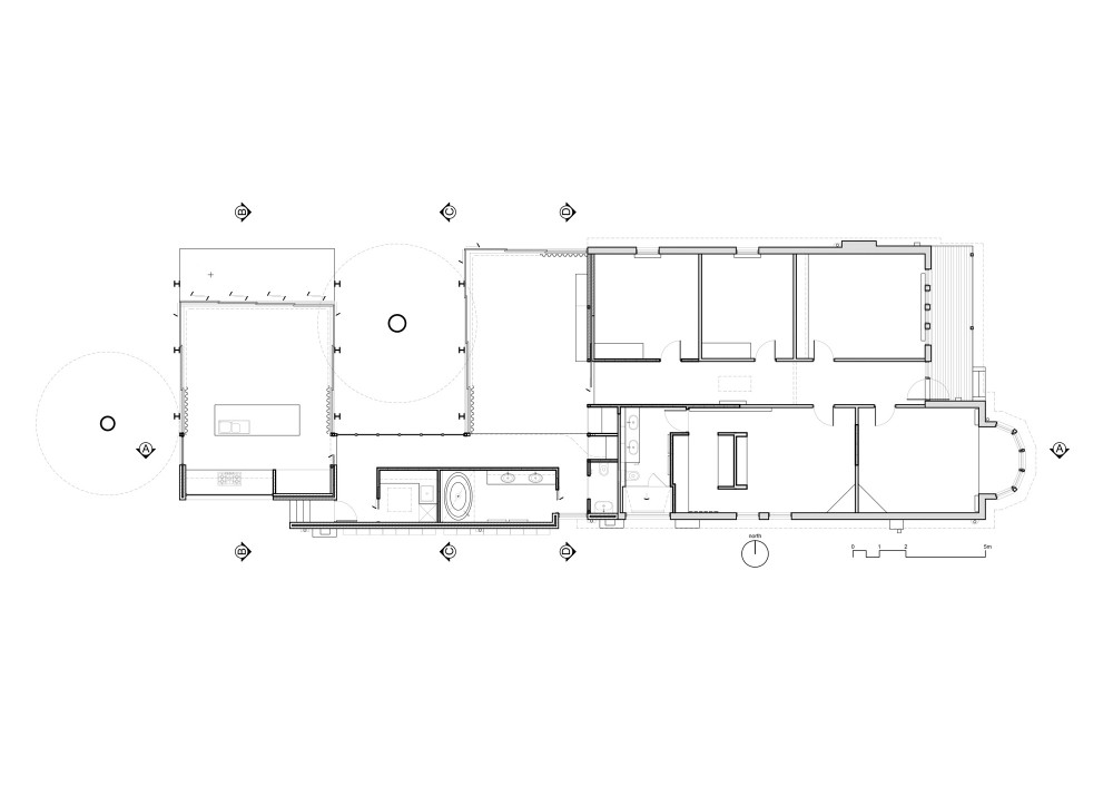 Elm & Willow House - Architects EAT floor plan