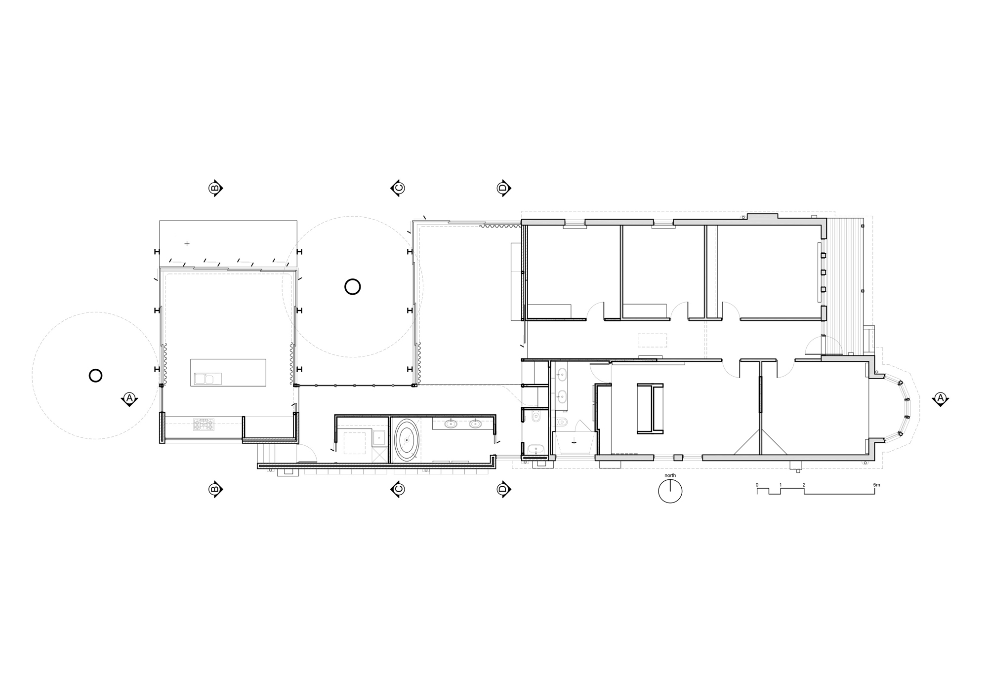 House With Attic Floor Plan Architecture Photography Elm Amp Willow House Architects