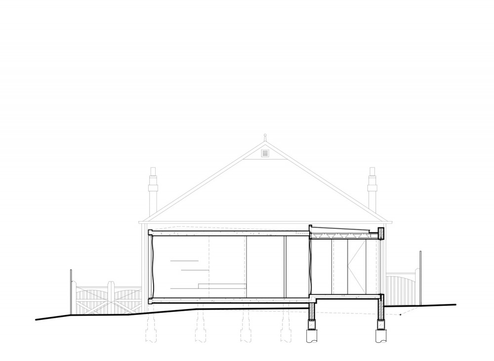 Elm & Willow House - Architects EAT section 04