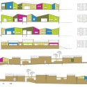 Kindergarden - Epinay Nursery School - BP Architectures elevations