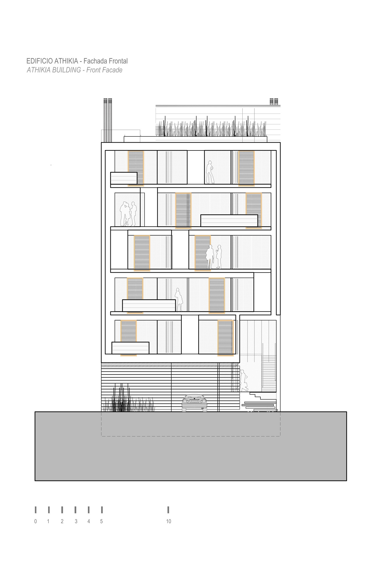 Front Elevation Software : Architecture photography housing athikia building