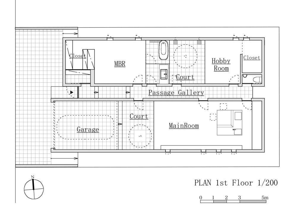 Sz House - Miyahara Architect Office floor plan
