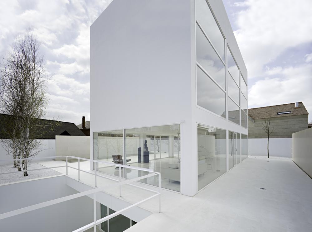 Moliner House - Alberto Campo Baeza © Javier Callejas