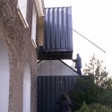 House extension - Christophe Nogry construction process 02