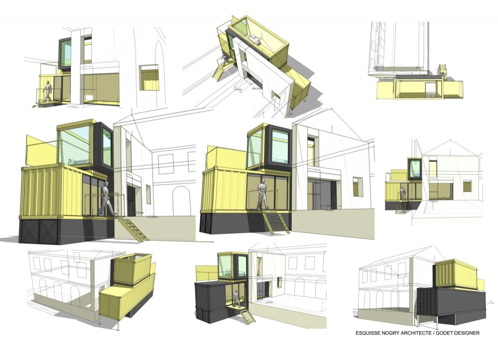House extension - Christophe Nogry diagrams 02