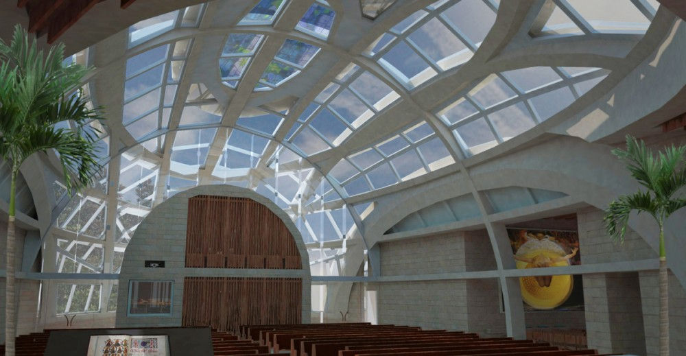 Air Force Village Chapel proposal / R. Miller Architecture