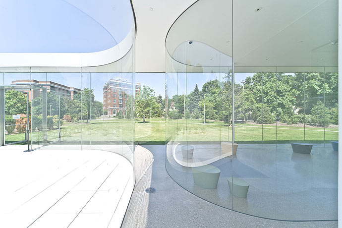 Glass Pavilion at the Toledo Museum of Art / SANAA