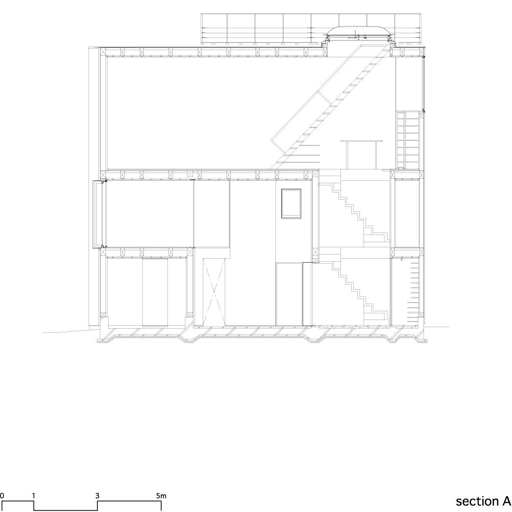 House in Matsubara - Ken'ichi Otani Architects section 01