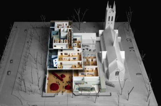 Foyer Museum Quebec : Oma wins competition for the beaux arts museum in quebec