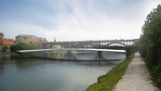Footbridge in Maribor / Arhitektura d.o.o.