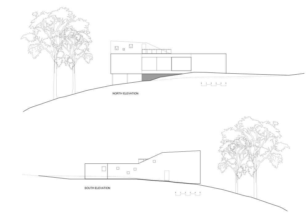 Allens Rivulet House - Room11 elevations 01