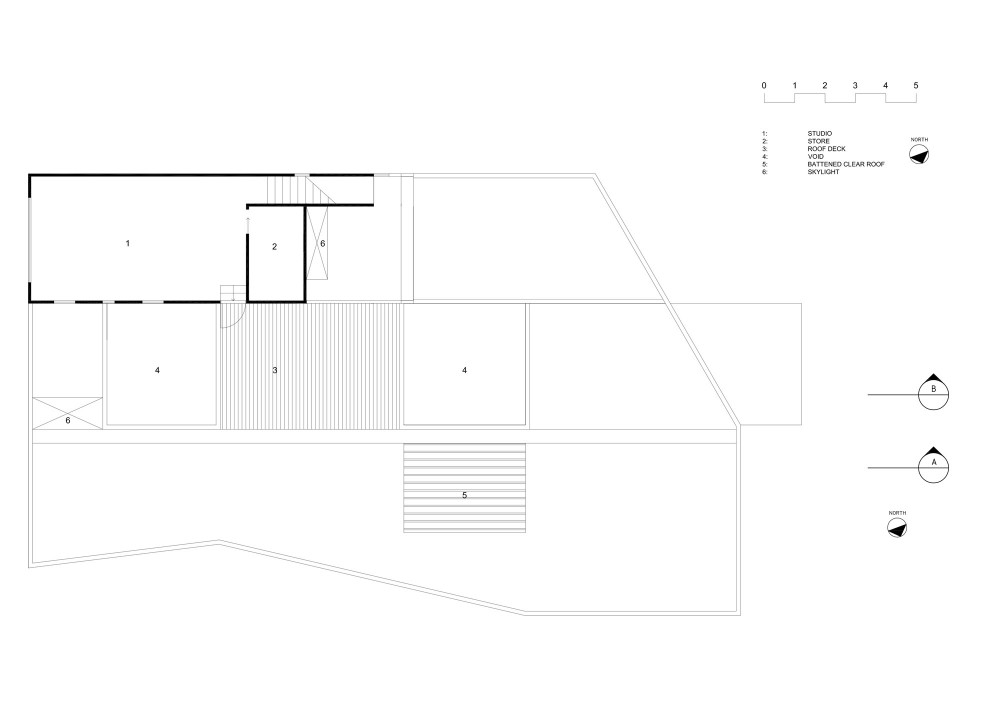 Allens Rivulet House - Room11 first floor plan