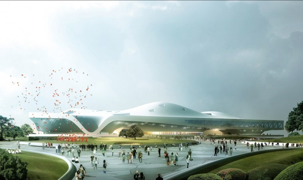 Wei-Wu-Ying Center for the Arts / Mecanoo