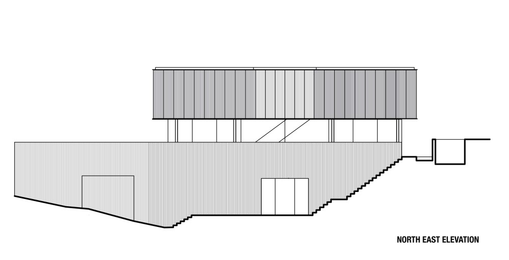 Freshwater House - Chenchow Little elevation
