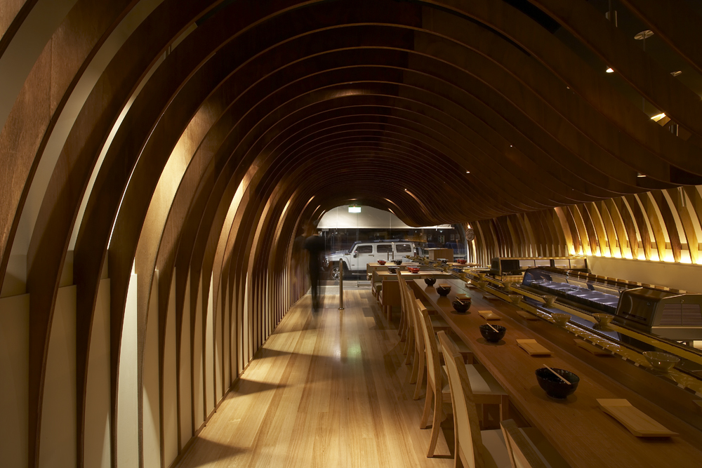 Cave Restaurant / Koichi Takada Architects