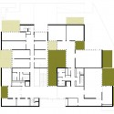 Madan Park Building - PPST Arquitectura ground floor plan