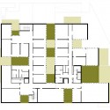 Madan Park Building - PPST Arquitectura second floor plan