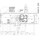 Cantilever House - Anderson Anderson Architecture ground floor plan