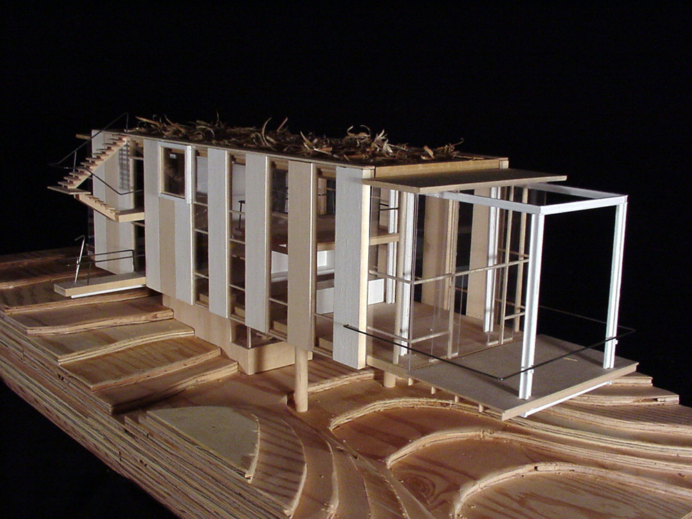 Architecture photography cantilever house anderson for Architecture house models