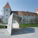 National Park Danube Visitors Center - Schloss Orth - synn architekten © Rupert Steiner